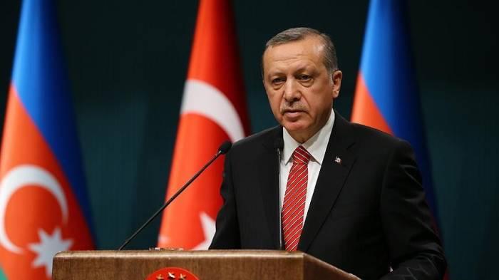 Ərdoğan AKP-nin iclasında Bakı-Tbilisi-Qarsdan danışdı