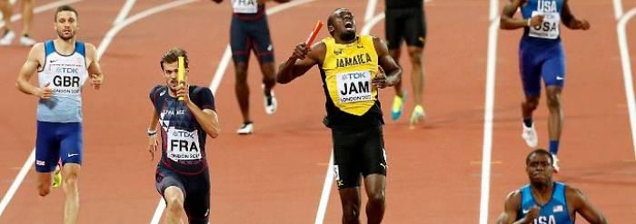 Bolt  verabschiedet sich mit einem Drama