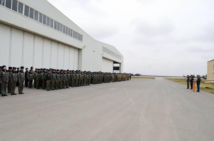 Hərbi Hava Qüvvələrinin ildönümü qeyd olunub - Fotolar