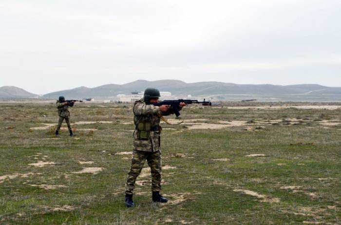 Ordumuzun ən yaxşı tabor komandirləri - FOTOLAR