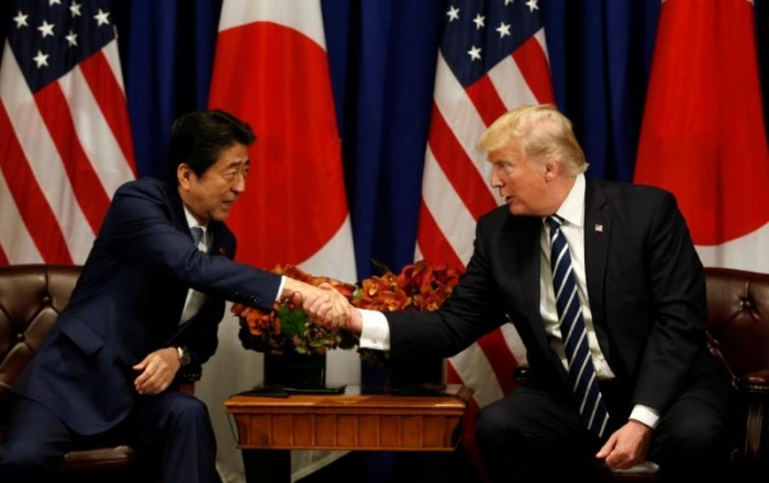Abe, Trump agree to raise pressure on North Korea: Japan government