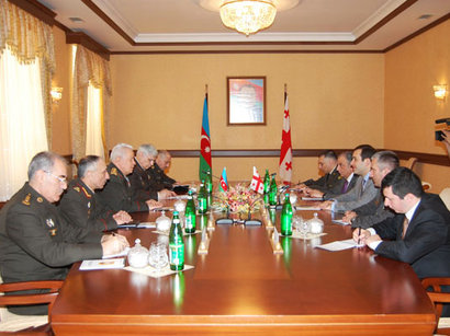 Azerbaijan and Georgia discuss prospects of military cooperation