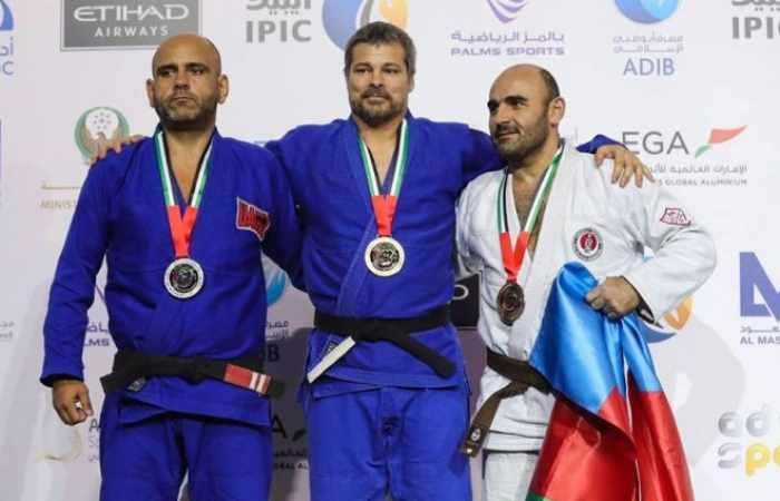 Azerbaijani jiu-jitsu fighters win two world medals in Abu Dhabi