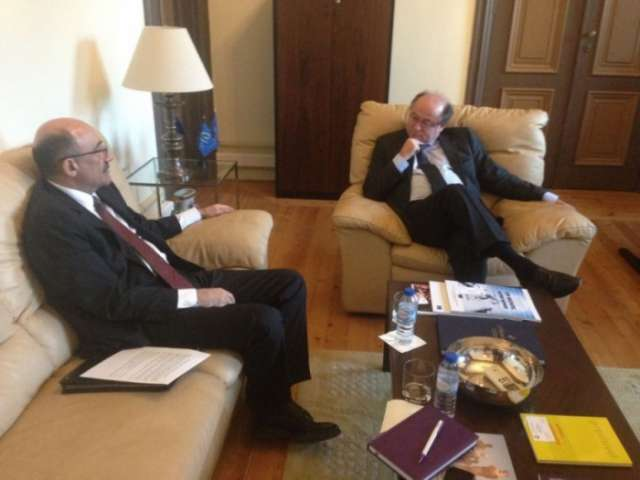 Azerbaijan`s Minister of Culture and Tourism meets head of North – South Center of Council of Europe