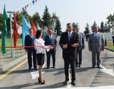 İlham Əliyev Qaxa gedib-FOTOLAR