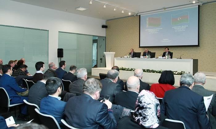 Azərbaycan-Belarus işgüzar görüşü keçirilib