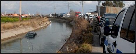Kanala düşən sürücünü axtararkən başqa bir cəsəd tapıldı