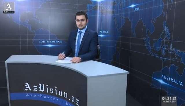 AzVision Nachrichten: Alman dilində günün əsas xəbərləri (19 fevral) - VİDEO