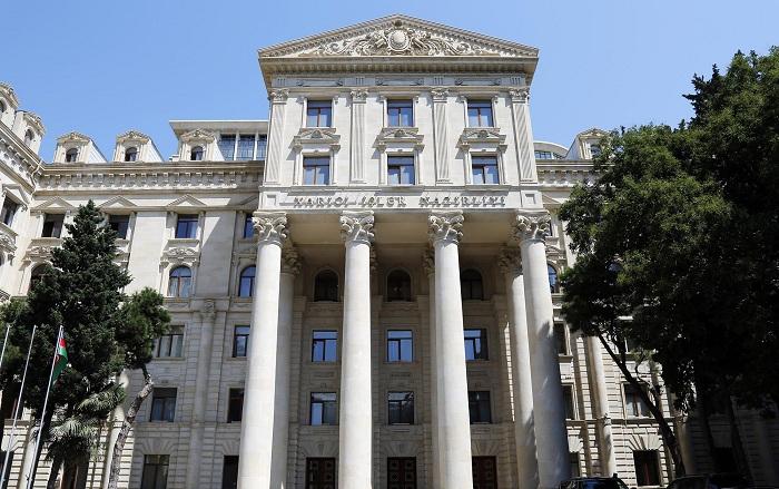 MAE: Le coprésident du Groupe de Minsk n`a pas le droit de faire des recommandations à d`autres