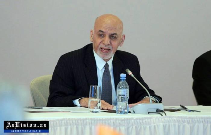 """El presidente afgano :"""" Al tiempo que OTAN cerró el itinerario , Azerbaiyán concedió su corredor aéreo¨ Renovado"""