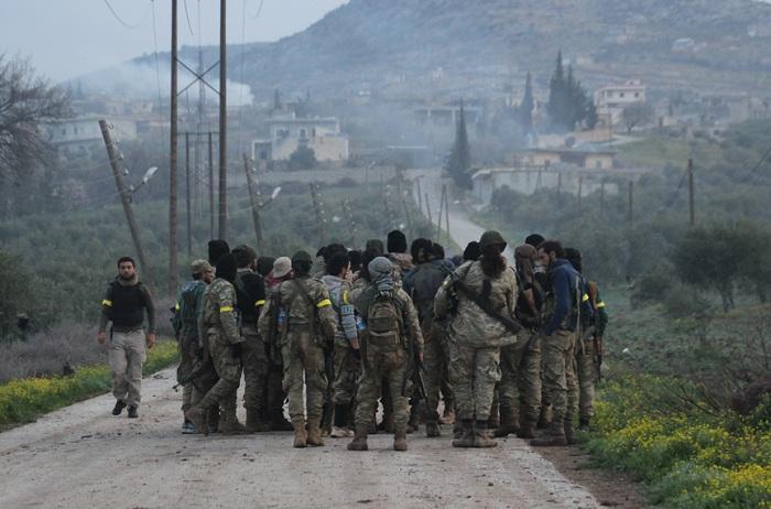 Afrində öldürülən terrorçuların sayı 2516-a çatıb