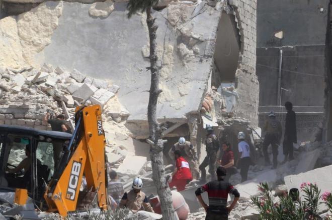 Rusia anuncia un alto el fuego de 48 horas en la ciudad siria de Alepo