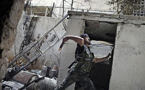 Türkiyə- Suriya sərhədində qızğın döyüşlər başlayıb