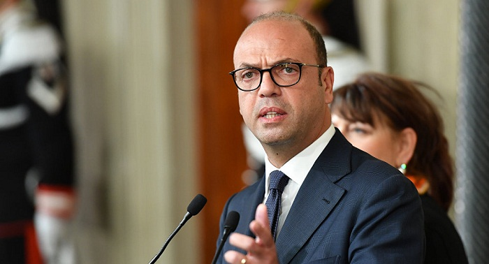 Ex-Interior Minister Alfano appointed Italy`s foreign minister