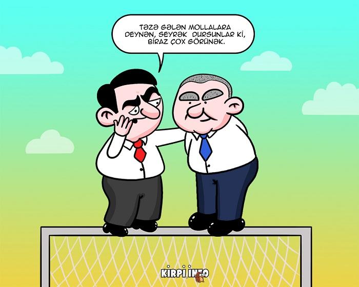 """""""Ortaya çəkilin, çox görünək"""" - KARİKATURA"""