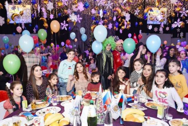 Heydar Aliyev Foundation arranges annual New Year party for children