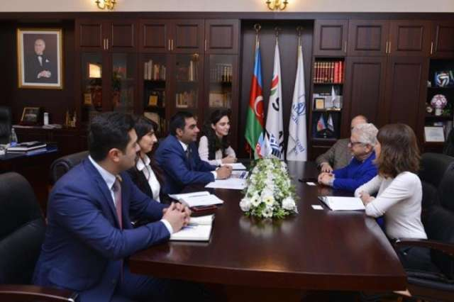Ambassador of Greece visits Baku Higher Oil School