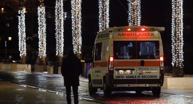 Four reportedly injured in homemade bomb blast in Italy's Turin