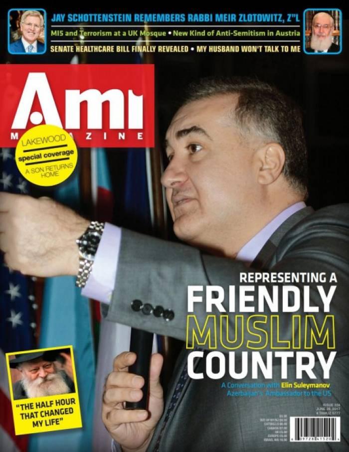 Nächste Nummer des führenden jüdischen Magazins Ami Aserbaidschan gewidmet