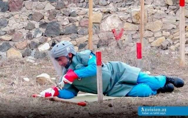 35,117 unexploded ordnance defused in Azerbaijan in 2017