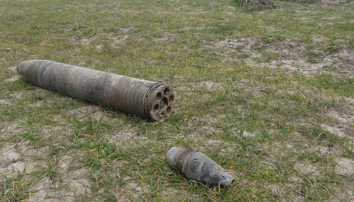 Bakı-Novorossiysk neft kəməri yaxınlığında hərbi sursatlar tapılıb