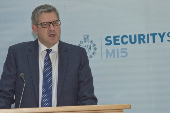 UK facing most severe terror threat ever, warns MI5 chief