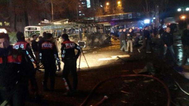 Ankarada dəhşətli terror: 34 ölü