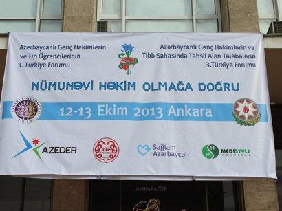 Gənc Həkimlərin 3-cü Türkiyə Forumu bitdi