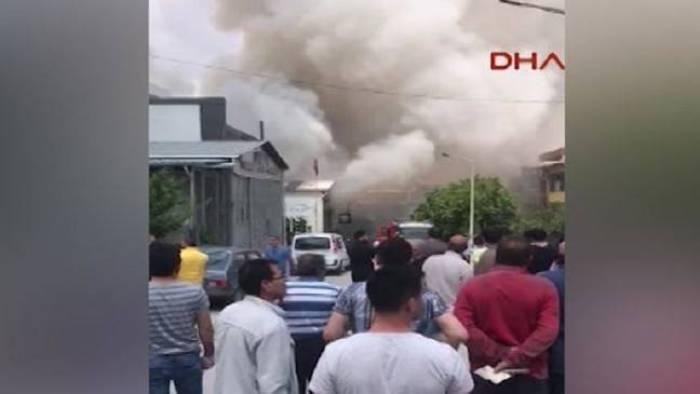 One killed, three injured in Turkey's Ankara industrial zone explosion - VIDEO