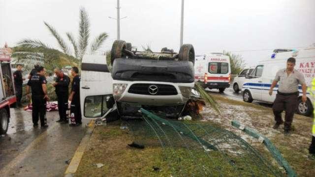 Road accident kills 3, injures 10 in Turkey