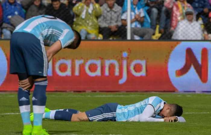 Argentina pierde La Paz sin Messi y la eliminatoria se aprieta