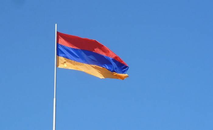 La acción de protesta en Armenia
