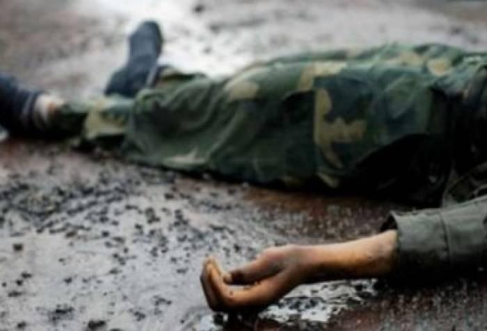 Erməni hərbçi maşında yanaraq öldü