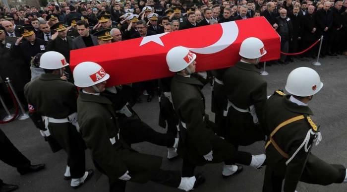 Türkiyə Suriyada daha bir şəhid verdi