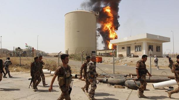 Medios informan de combates entre tropas iraquíes y peshmerga al sur de Kirkuk