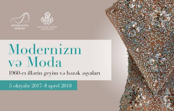 """Bakıda """"Modernizm və moda"""" sərgisi keçiriləcək"""