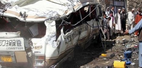 Pakistanda ağır yol qəzası: 27 nəfər ölü