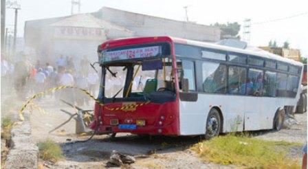 Bakıda avtobus qəzaları - qanlı statistika