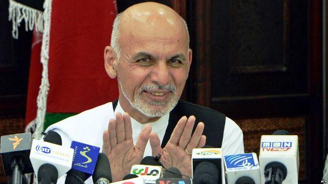Afghan president ends working visit to Azerbaijan