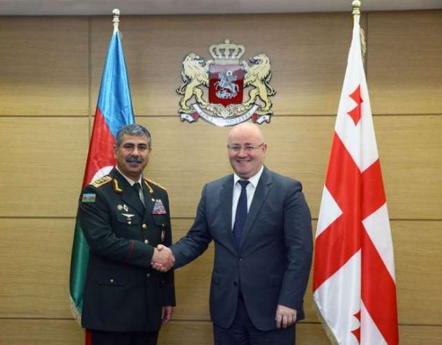 Azerbaijan-Georgia military cooperation discussed in Tbilisi