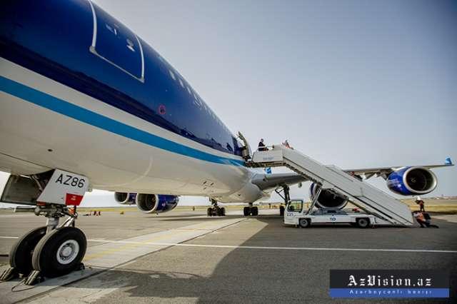 Moskvadan Bakıya uçan təyyarədə problem yarandı