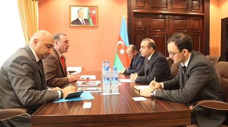 Azay Quliyev BMT təmsilçisilə görüşüb