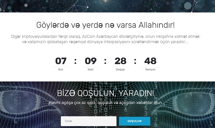 Azərbaycanda milli kriptovalyuta yaradılır: AzCoin