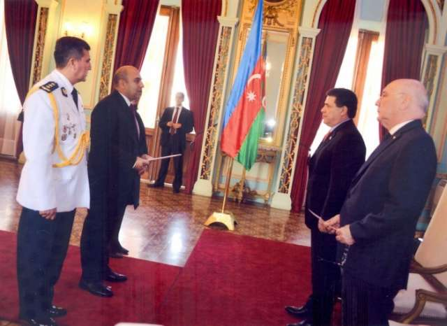 Azerbaijani ambassador presents credentials to President of Paraguay
