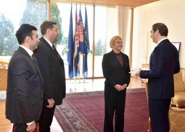 Azerbaijani ambassador awarded Supreme Order of Croatia