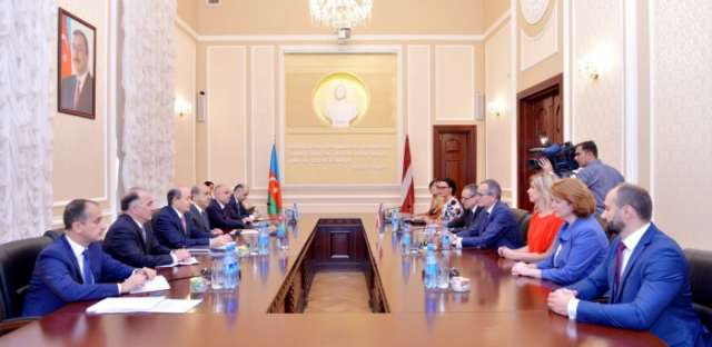 Azerbaijan, Latvia explore ways of expanding legal cooperation