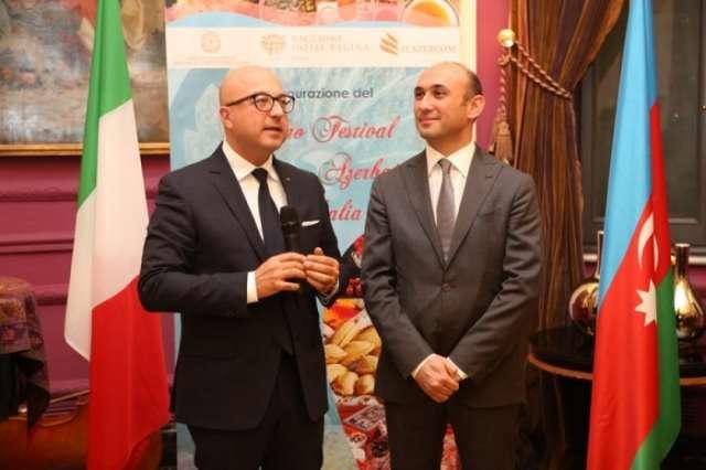 First Azerbaijani Cuisine Festival opens in Italy