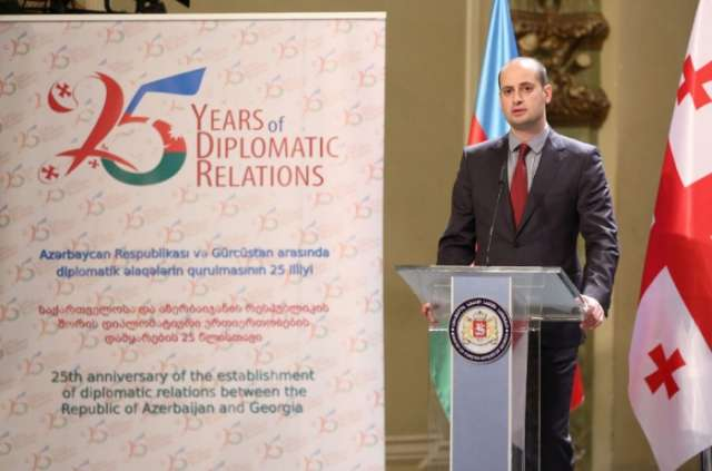 Event marking 25th anniversary of diplomatic relations between Azerbaijan and Georgia held in Tbilisi