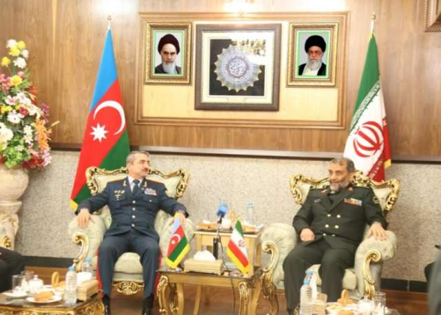 """Part of Azerbaijani-Iranian border not controlled due to Armenian occupation"""