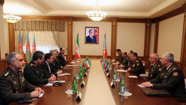 Azerbaijan, Iran mull military co-op